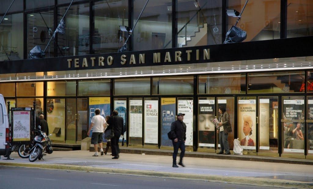 """Los actores del Complejo Teatral Buenos Aires denuncian """"fraude ..."""