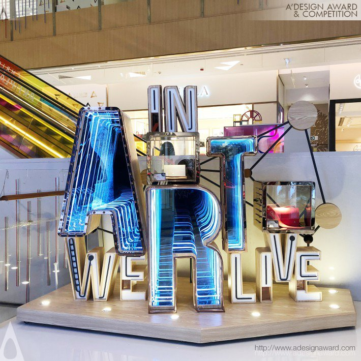 In Art We Live by K11 Collaboration with Blue Mount