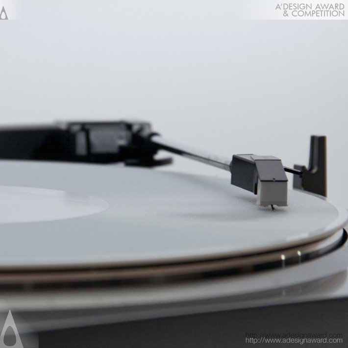 3D Printed Record by Amanda Ghassaei